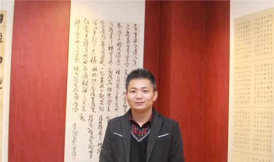 经纬书画李超参加了南京市青年书法家协会五届二次理事作品展